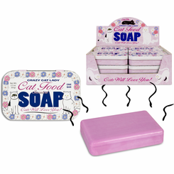 Crazy Cat Lady Cat Food Scented Soap