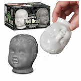 Creepy Doll Head Salt And Pepper Shakers
