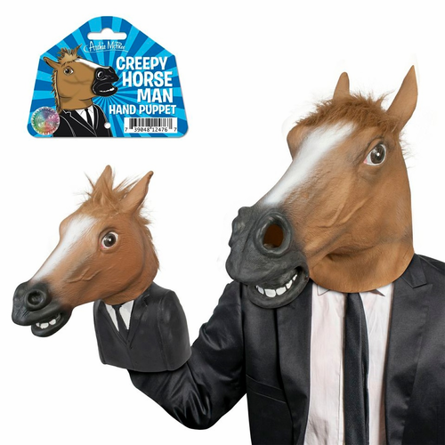 Creepy Horse Man Hand Puppet - Click to enlarge