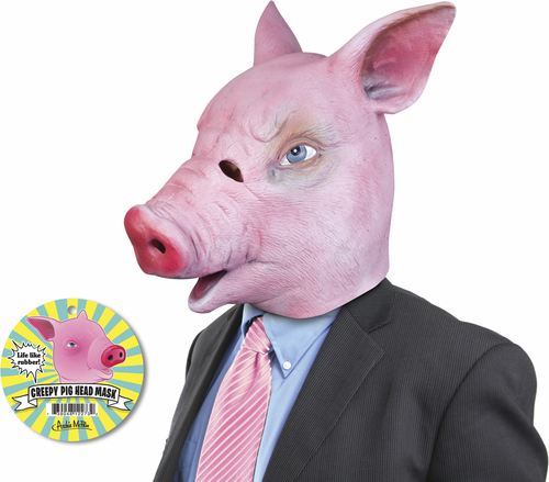 Creepy Pig Mask - Click to enlarge