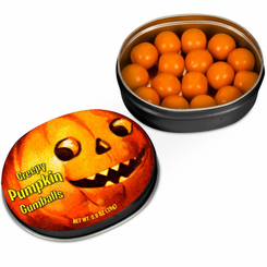 Creepy Pumpkin Gumballs