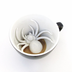 Creepy Spider Mug