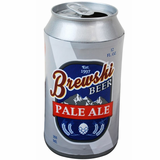 Crushable Beer Can