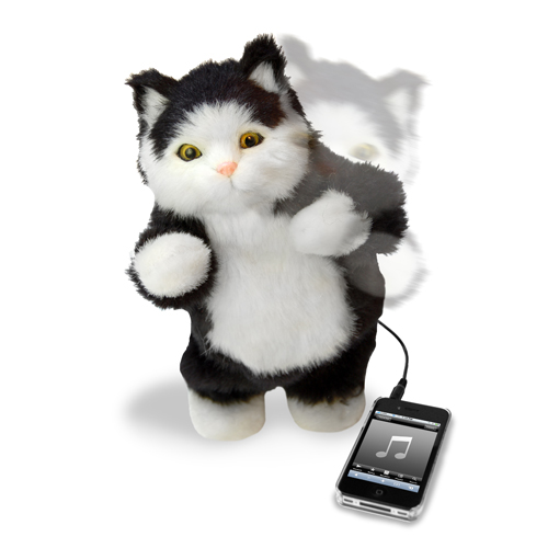 Dancing Cat Speaker - Click to enlarge