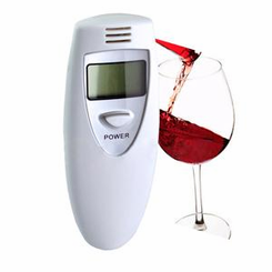 Digital Personal Breathalyzer with LCD