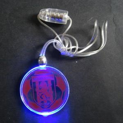 Discglo Flashing Necklace