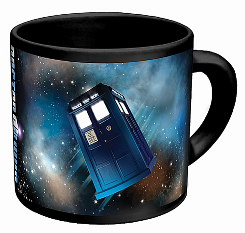 Disappearing TARDIS Mug - Click to enlarge