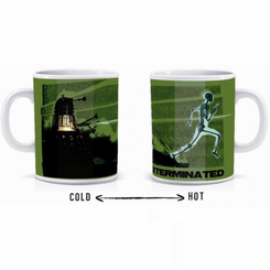 Doctor Who Heat Sensitive Exterminate Mug