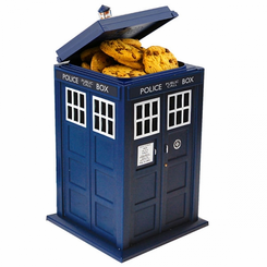 Doctor Who TARDIS Cookie Jar Hidden Camera