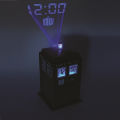 Doctor Who TARDIS Projector Alarm Clock