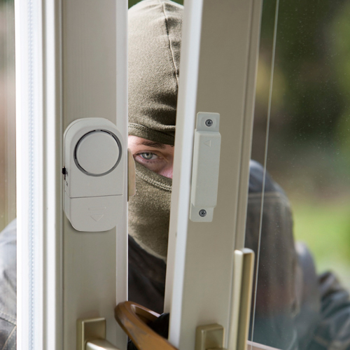 FREE Prime Defense Door Alarm.