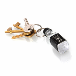 Dutch Courage Liquor Bottle Keyring