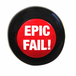 Epic Fail! Mini Slammer Button