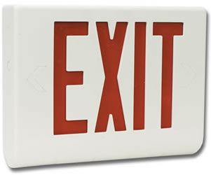 Exit Sign Hidden Camera w/ DVR - Click to enlarge
