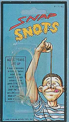 Fake Snot - Click to enlarge