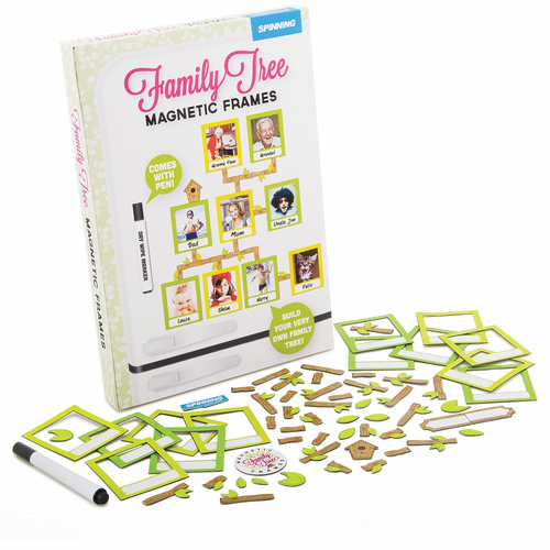Family Tree Magnetic Picture Frames - Click to enlarge
