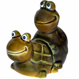 Faster! Faster! Turtle Sex Salt & Pepper Shakers