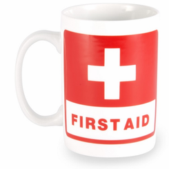 First Aid Coffee Mug
