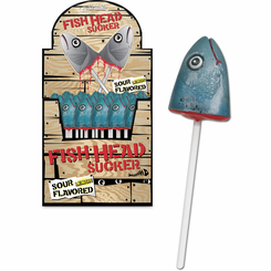 Fish Head Lollipop
