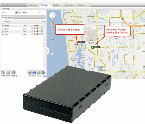Fleet GPS Tracking Device - Click to enlarge