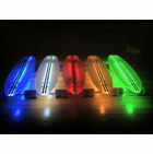 Clear 29 LT Flexdex Led Skateboard