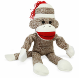 Flying Sock Monkey Slingshot