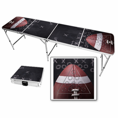 Football Plays Beer Pong Table