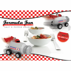 Formula Fun Salt n Pepper Shakers