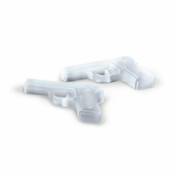 freeze gun ice cube tray mold