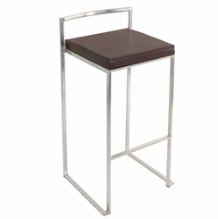 Fuji Stacker Barstool Brown BS-BG-FUJI-BN