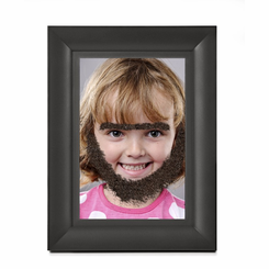 Fuzzy Face Magnetic Photo Frame