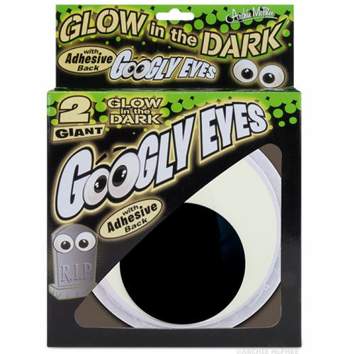 Giant Glow in the Dark Googly Eyes - Click to enlarge