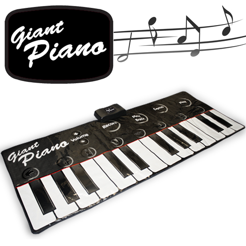 Gigantic Piano Keyboard - Click to enlarge