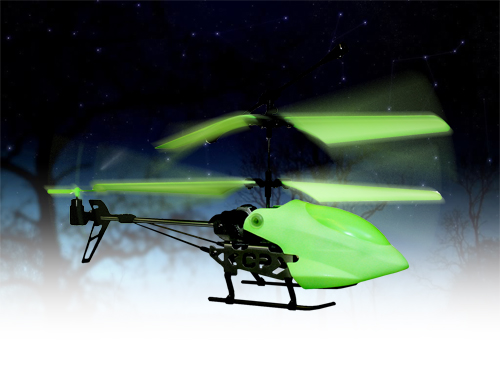 Glow In The Dark RC Helicopter - Click to enlarge