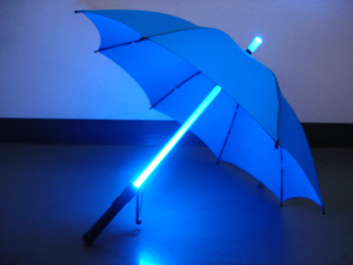 Glow Umbrella - Blade Runner Style - Click to enlarge