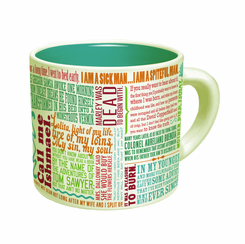 Great Lines Of Literature Mug