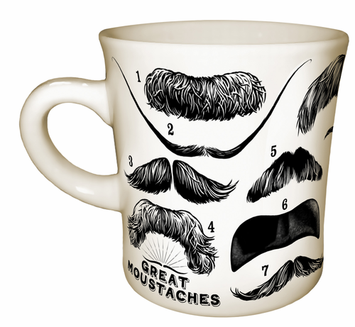 Great Mustaches Mug - Click to enlarge