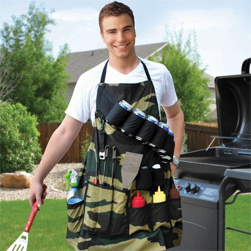 grill sergeant bbq apron - Click to enlarge
