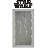 "Han Solo in Carbonite Deluxe 10"" Silicone Tray"