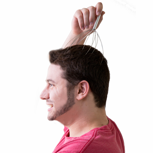 Hand Held Head Massager - Click to enlarge