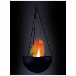 Economy - Hanging Flame Lamp