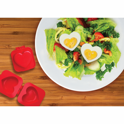 Hard Boiled Egg Heart Mold