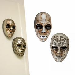 Harry Potter-Magnet-Resin Death Eater Mask Set