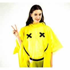 Have a Nice Day Rave Poncho