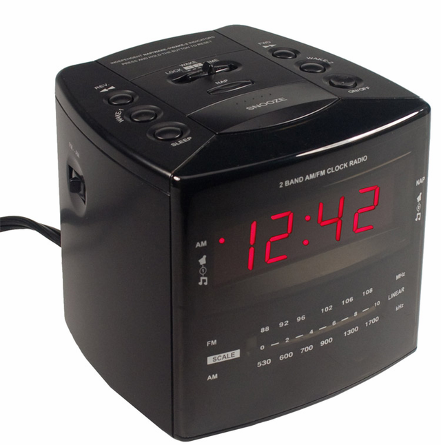 spy alarm clock for sale wakes up thieves and liars. Black Bedroom Furniture Sets. Home Design Ideas
