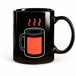 Heat Sensitive Coffee Mug