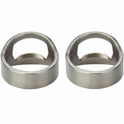 His and Her Bottle Opener Rings