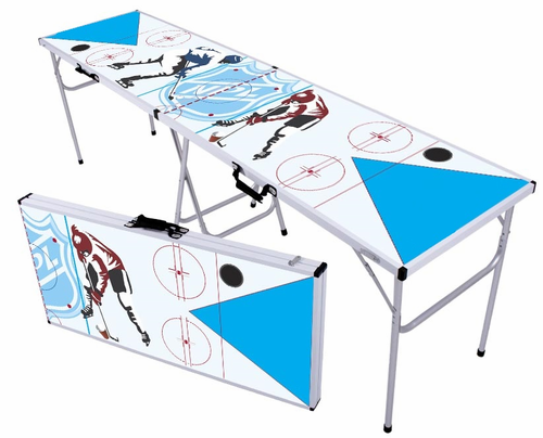 Hockey Beer Pong Table - Click to enlarge