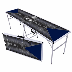 Hockey Black Ice Beer Pong Table