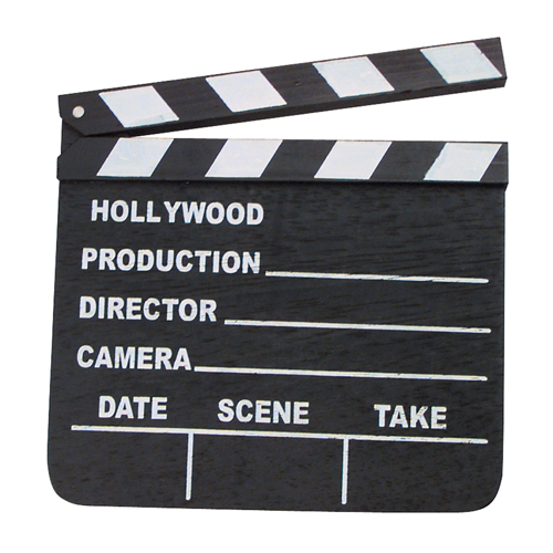 Hollywood Slate Board - Click to enlarge